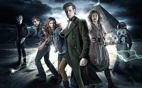 Обои доктор кто, Мэтт Смит, путешествие во времени, Matt Smith, Сериалы