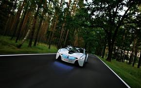 Обои Лес, Vision, BMW, Концепт
