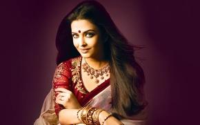 Картинка девушка, актриса, красавица, girl, sexy, Aishwarya Rai, eyes, smile, beautiful, model, pretty, beauty, lips, face, …