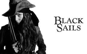 Картинка девушка, пират, Black Sails, чёрные паруса
