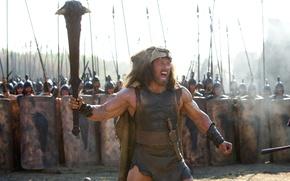 Картинка фэнтези, ярость, шкура, крик, Дуэйн Джонсон, Dwayne Johnson, Hercules, «Геракл»