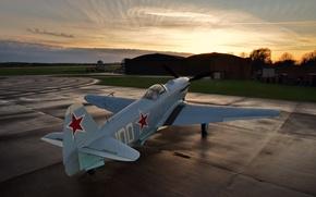 Обои истребитель, одномоторный, Фронтовой, Як-3М
