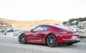 Картинка Porsche, Cayman, GTS