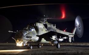 Картинка авиация, вертолет, ми-24