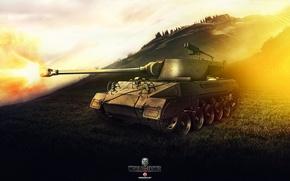 Картинка Игры, World of Tanks, Wargaming Net, FuriousGFX, M18 Hellcat