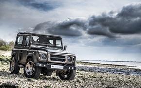 Картинка car, тюнинг, джип, внедорожник, tuning, A Kahn Design, Land Rover Defender