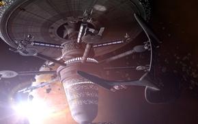Картинка космос, планета, night at the museum