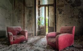 Картинка комната, интерьер, кресла