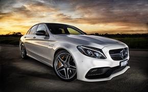 Картинка Mercedes-Benz, мерседес, AMG, C-Class, W205