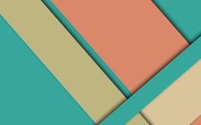 Картинка бежевый, material, голубой, абстракция, геометрия, линии, розовый