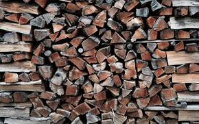 Картинка фон, дрова, Firewoods