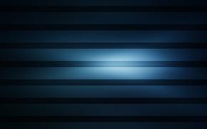 Картинка синий, полосы, фон, горизонтальные