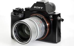 Картинка макро, камера, Sony A7R