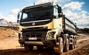 Картинка транспорт, Volvo, вольво, грузовой, FMX, 8x4