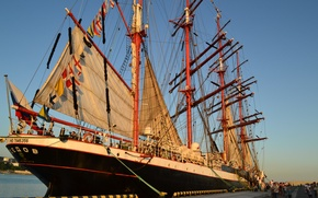 Картинка корабль, Море, Сочи, регата