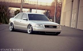 Картинка Audi, ауди, тюнинг, tuning, low, stance works