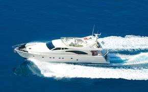 Картинка море, яхта, motor yacht, Alexandros