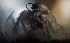 Картинка spider, design, creature, Doom