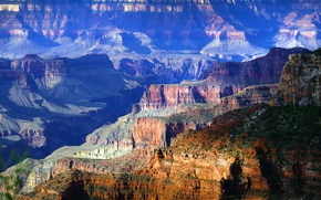 Картинка природа, утро, каньон