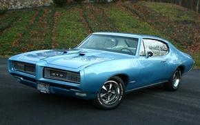 Картинка muscle car, coupe, pontiac, hardtop, gto
