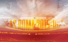 Картинка wallpaper, sport, stadium, football, AS Roma, Stadio Olimpico
