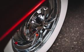 Обои стиль, Bel Air, Chevrolet, диски, колесо