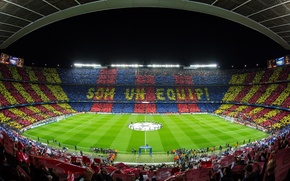 Картинка Camp Nou, FC Barcelona, Лига Чемпионов 2012-13, FC Barcelona - AC Milan