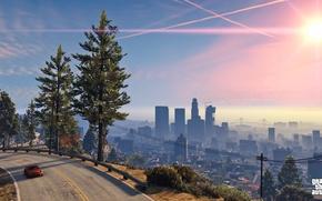 Картинка город, рокстар, Grand Theft Auto V, лос сантос, gta 5