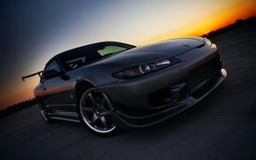 Картинка S15, Silvia, Nissan, ниссан, авто обои, сильвия, с15