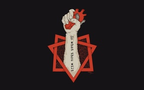 Картинка Сердце, Рука, Футболка, Татуировка, heart, tattoo, hand, Делай, Оксимирон, Oxxxymiron, Данко, Aleister Crowley, аюшки? хочешь, ...