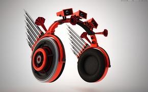 Обои динамики, наушники, Rhythm & Dynamics, вопилки