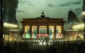 Картинка Square Enix, Berlin, Deus Ex: Mankind Divided, 2029