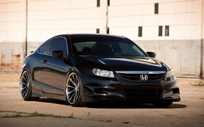Картинка чёрная, Honda, Accord, black, хонда