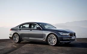 Картинка бмв, BMW, 730d, 2015, G11