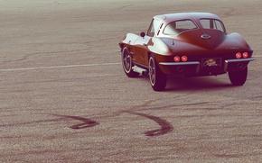Обои corvette, авто, вид