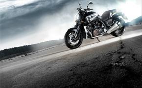 Обои motorcycle, Yamaxa, Yamaha V-MAX