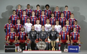Картинка Bundesliga, FC Bayern Munich, ФК Бавария, 2014-15