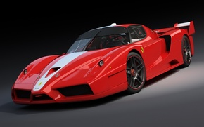 Обои red, Ferrari, красная