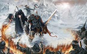 Картинка fantasy, man, warrior