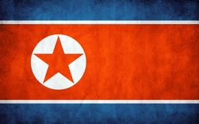 Картинка флаг, flag, северная корея, North Korea
