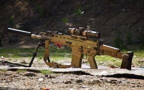 Обои оружие, штурмовая, SCAR, автомат, винтовка