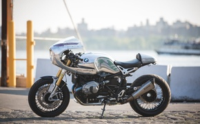 Картинка BMW, Custom, Cafe Racer, NineT, BMW R nineT, JANE Motorcycles, by JANE Motorcycles
