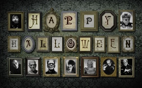 Картинка фон, обои, праздники, хеллоуин, портреты, helloween картины