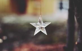 Картинка звезда, украшение, подвеска