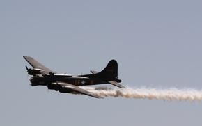 Картинка USA, Bomber, Aircraft, B17, WW11