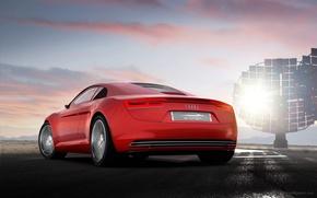 Картинка авто, автомобиль, Audi e-Tron