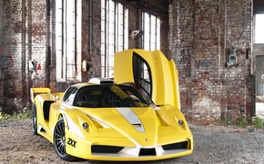 Картинка окна, столб, дверь, вид спереди, Ferrari Enzo, Edo Competition