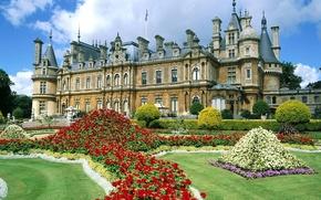 Обои Англия, Замок, Букингемшир