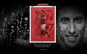 Картинка wallpaper, sport, football, Manchester United, player, Angel Di Maria