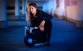 Картинка девушка, музыкант, DJ Ferri